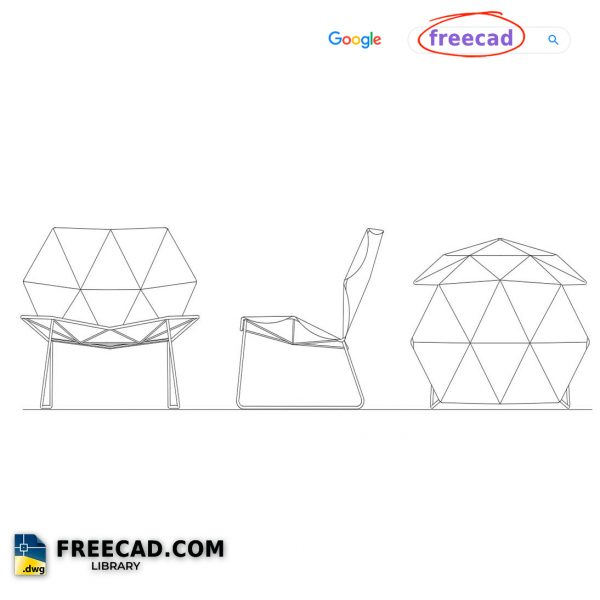 Chair By Architect DWG CAD Files