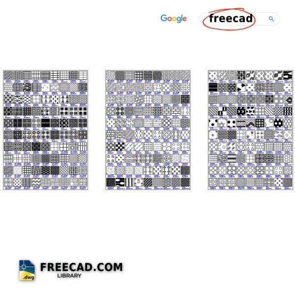 AutoCAD Hatch patterns free download file