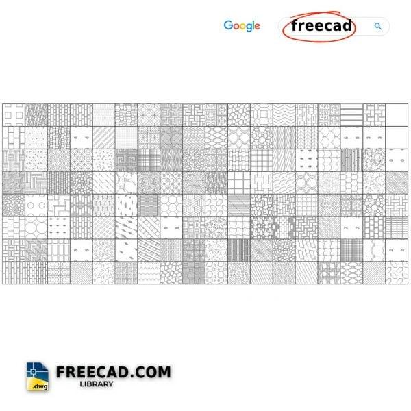 CAD Hatch patterns Download